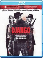 Blu Ray • Django Unchained QUENTIN TARANTINO FOXX DI CAPRIO WALTZ OSCAR ITALIANO