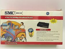 SMC Barricade 4-Port 10/100 Wired RouterNEW Printer / WAN / COM Ports