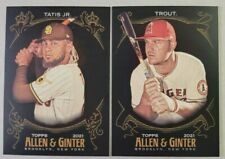 2021 Topps Allen & Ginter X The World's Champions - You Pick - Build Your set