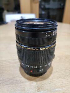 Tamron AF 28-300mm f/3.5-6.3 XR Di LD Aspherical (IF) Macro Lens, CANON