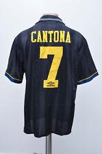 MANCHESTER UNITED 1993/1994/1995 AWAY FOOTBALL SHIRT JERSEY UMBRO CANTONA #7