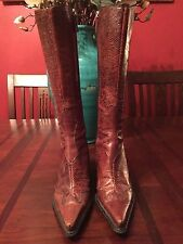 BCBG Girls Cowboy Boots - Pre-owned - Size 7.5