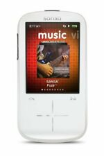 New SanDisk Sansa Fuze+ White 8GB Digital Media MP3 WMA Player SDMX20R-008GW-C57