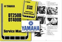 Yamaha DT250 DT400 Service Workshop Repair Shop Manual DT 250 400 D E Factory