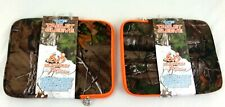 Two 2X Real Tree Camoflauge 10 Inch Tablet Case Sleeve NEW