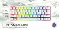 Razer Huntsman Mini Clicky Optical Switch Mercury 60% Gaming Keyboard - NEW