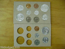 US 1954 PDS Coin Set 15 Coins Tone