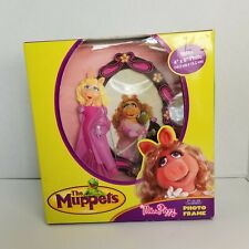 Jim Hensons Muppets Miss Piggy Resin Photo Frame 2006 Disney 4 x 6