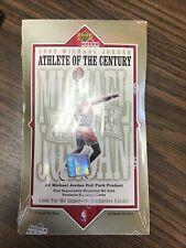 1999 UPPER DECK MICHAEL JORDAN ATHLETE OF THE CENTURY BASKETBALL SEALED BOX RARE