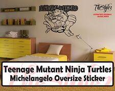Teenage Mutant Ninja Turtles Michelangelo Wall Vinyl Sticker