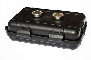 Strong Magnetic Case Hidden Cash Money Box Jewellery Safe Stash Caravan Car Boat