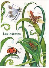 "Bloc neuf France 2017 ""Les insectes"""