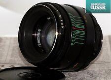 Helios 44-2 MMZ Soviet Lens M42 Pentax Canon Sony NEX Olympus Lumix EXC