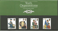 Youth Organisations Royal Mail Mint Stamps 24 March 1982 Presentation Pack U2831