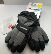 Hotfingers Winter Toddler Gloves. Size Small (1-2) Black/Grey