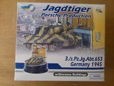 1:72 DRAGON 60342 Tigre Caza PORSCHE Production 3S. pz.jg.abt. 653. diorarmor