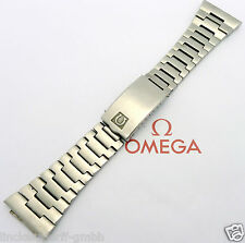 Omega pulsera de acero bandanstoß 27mm 1970er años ref. 1213 -22