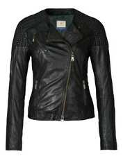 BOGNER Jeans ALICIA Damen Lederjacke / Bikerjacke, Size: L / Lammleder