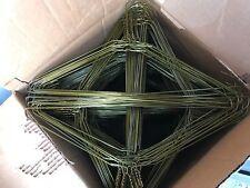 500 Metal Gold Color Wire Shirt Hangers Strong 13 Gauge