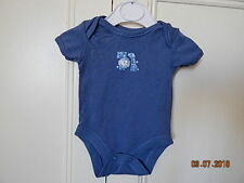 """GEORGE BABY BOYS SOFT COTTON BLUE """"BEST FRIENDS"""" PLAYSUIT FIRST SIZE"""