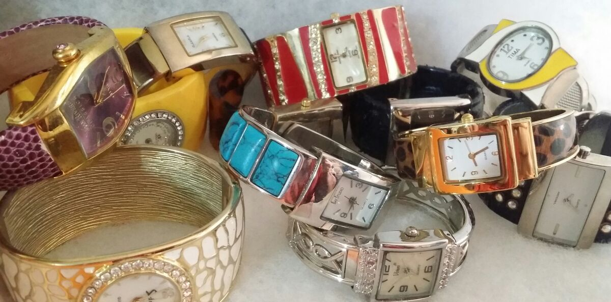 CUFF & BANGLE Watches by Cindy Lee