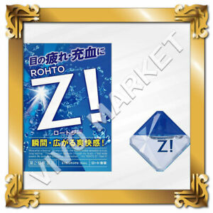 Japan ROHTO Z! Eye Drops Ultra refreshing Feeling 12ml FS