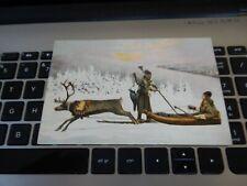 More details for postcard  reindeer sledding and sami   ???? p9 c21