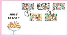 JERSEY Post 1996  FDC - (Olympic) SPORTS II -  Special Handstamp
