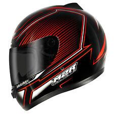S Small M2R M1 Precision Honda Ducati Red Full Face Road Motorbike Helmet
