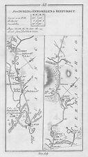 1778 Ireland Dublin Trim Athboy etc. Antique Road Map