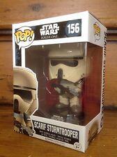Funko Pop! SCARIF Star Wars Stormtrooper blu a righe #156 Esclusivo Figura in vinile