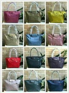 Original  Longchamp Le Pliage Nylon Tote Handbag Travel Bag Large and Medium