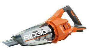 NEW RIDGID R860902B 18-Volt Cordless Hand Vacuum w/ Three Nozzle Attachments