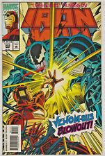 INVINCIBLE IRON MAN#302 NM 1994 VS VENOM MARVEL COMICS