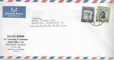 JORDAN 40f AND 5f ON TYPED COVER TO GERMANY  MY REF  47