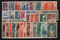 AL140355/ FRANCE / LOT 1938 - 1939 MINT MNH - CV 430 $