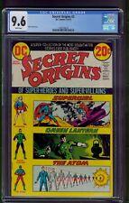 Secret Origins #2 (1973) CGC Graded 9.6 ~ Nick Cardy Cover ~ DC Comics