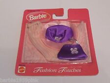 """3 Piece Fashion Touches Trio For Your Barbie """" New """" MOC By Mattel With Hat"""
