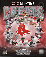 Boston Red Sox ALL TIME GREATS 8x10 PHOTOFILE Team Photo