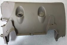 OEM 2005-2011 Toyota Tacoma Beige Lower Center Console Power Outlet Trim Factory
