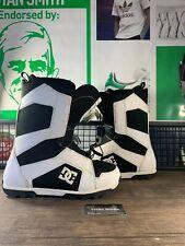 New listing Men's 2011 Dc Snowboard Snowboarding Shoes Black White 302793