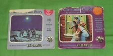 THE CHRISTMAS STORY + DICKENS' A CHRISTMAS CAROL VIEW-MASTER REELS packet lot