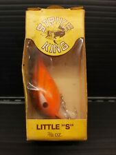 "NOS Pre KVD Strike King Little ""S"" Crankbait"