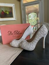 Bridal/Special Occasion Shoes Pearl Beaded High Heels