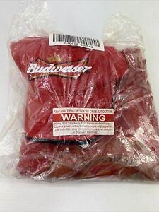 2007 Dale Earnhardt Jr 8 Budweiser Red Hat & T-shirt Combo Size L Nascar NWT
