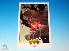 Shanna The She-Devil Limited Edition Print Frank Cho Marvel Comics Savage Land