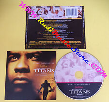 CD SOUNDTRACK Trevor Rabin Remember The Titans 0927 45948 2 no lp dvd vhs(OST4)