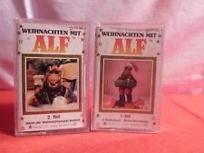 2 x Alf MC / Kassette / Weihnachten mit Alf 1 + 2 / 1988 / Karussell / Dolby