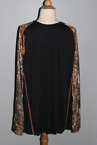 NEW Men's Hunting Shirt REALTREE Xtra Polyester Knit Long Sleeve Camo M L XL