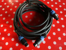 Câbles HP  Speakon Neutrik long. 4m